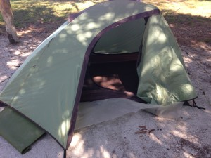 ALPS 1.5 man tent-about 4 lbs