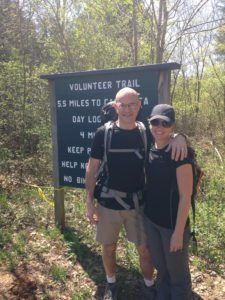 Hiking the Volunteer Trail in Mt. Juliet
